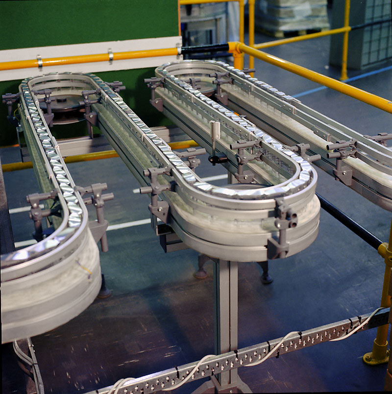 广州flexlink柔性链板输送机